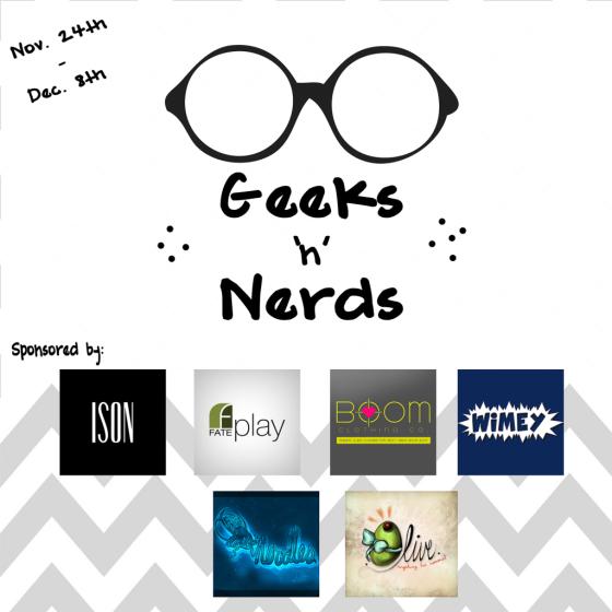 Geeks'n'NerdsPoster